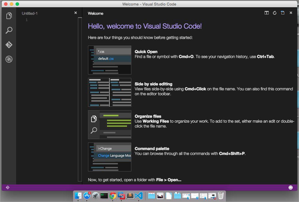Introducing Visual Studio Code